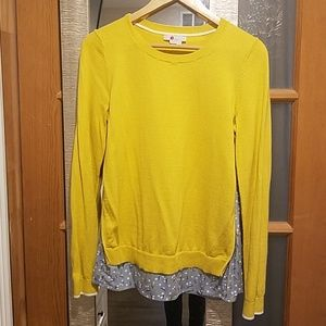 Boden yellow sweater - small